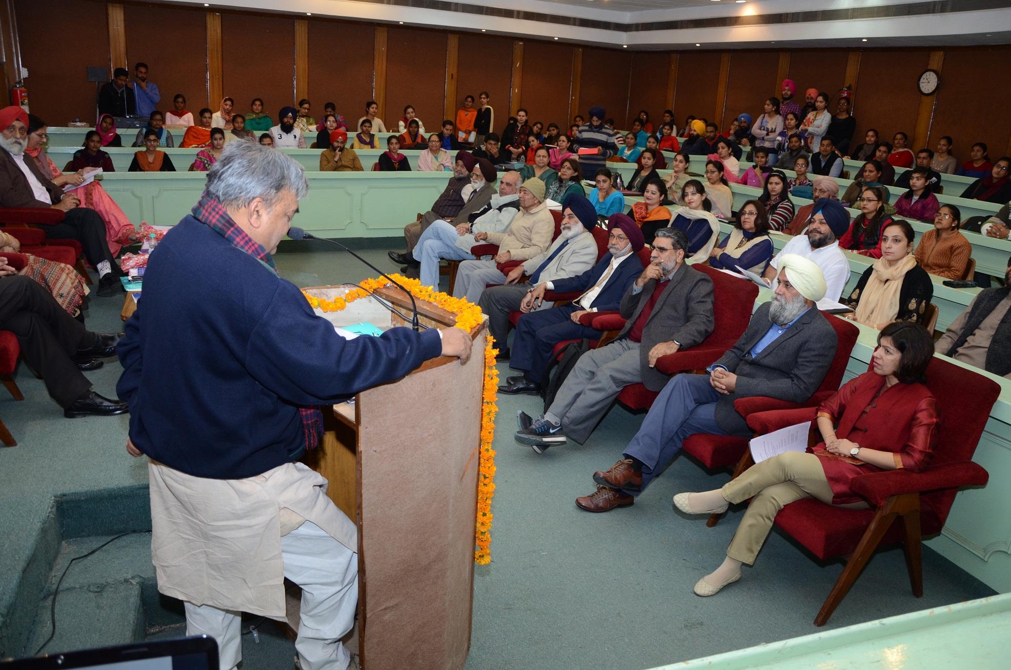 National seminar on 'Agricultural and Rural Diversification in Punjab' inaugurated at Guru Nanak Dev University