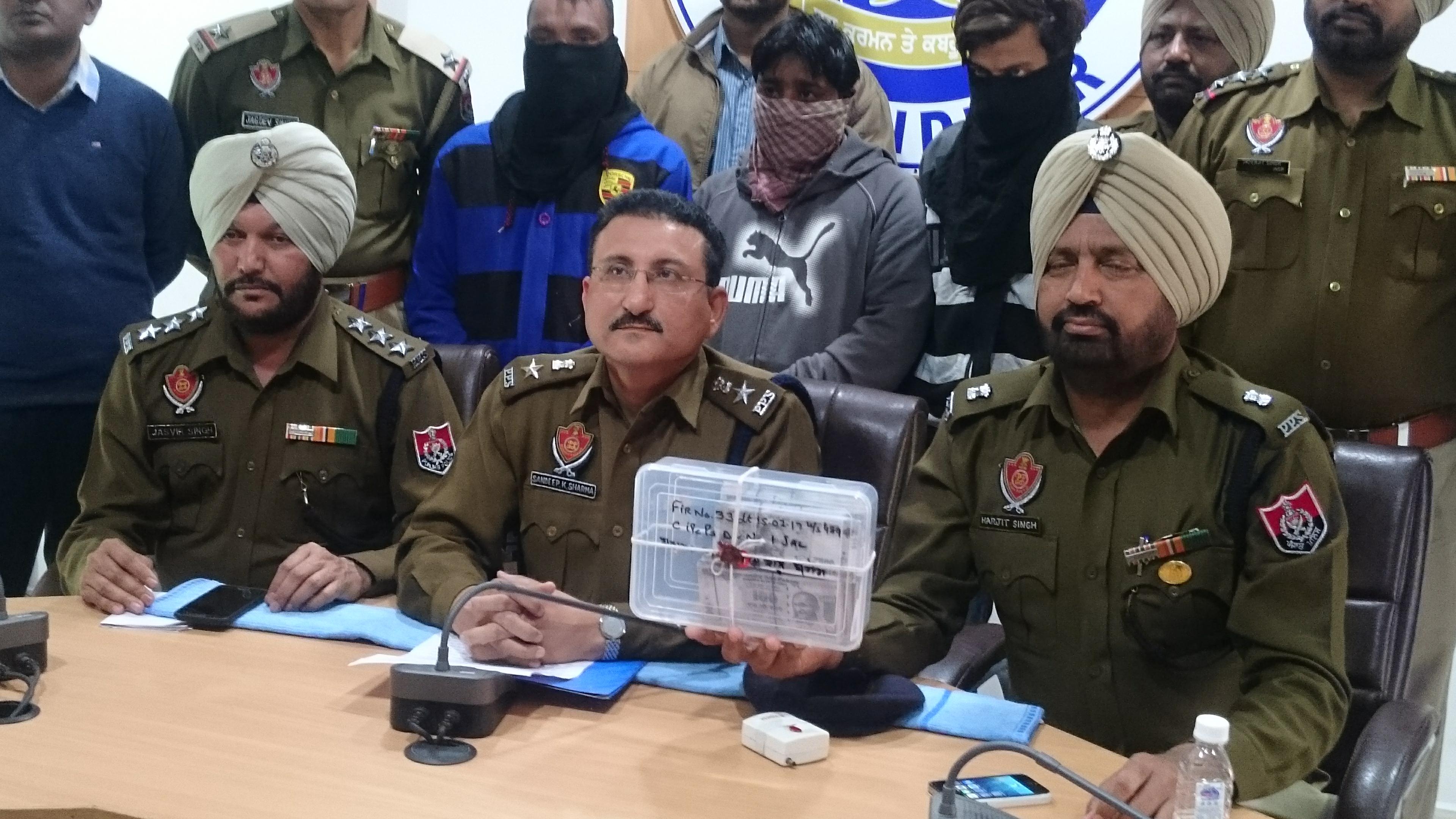 Jalandhar police  busts fakeIndian currency racket arrests three