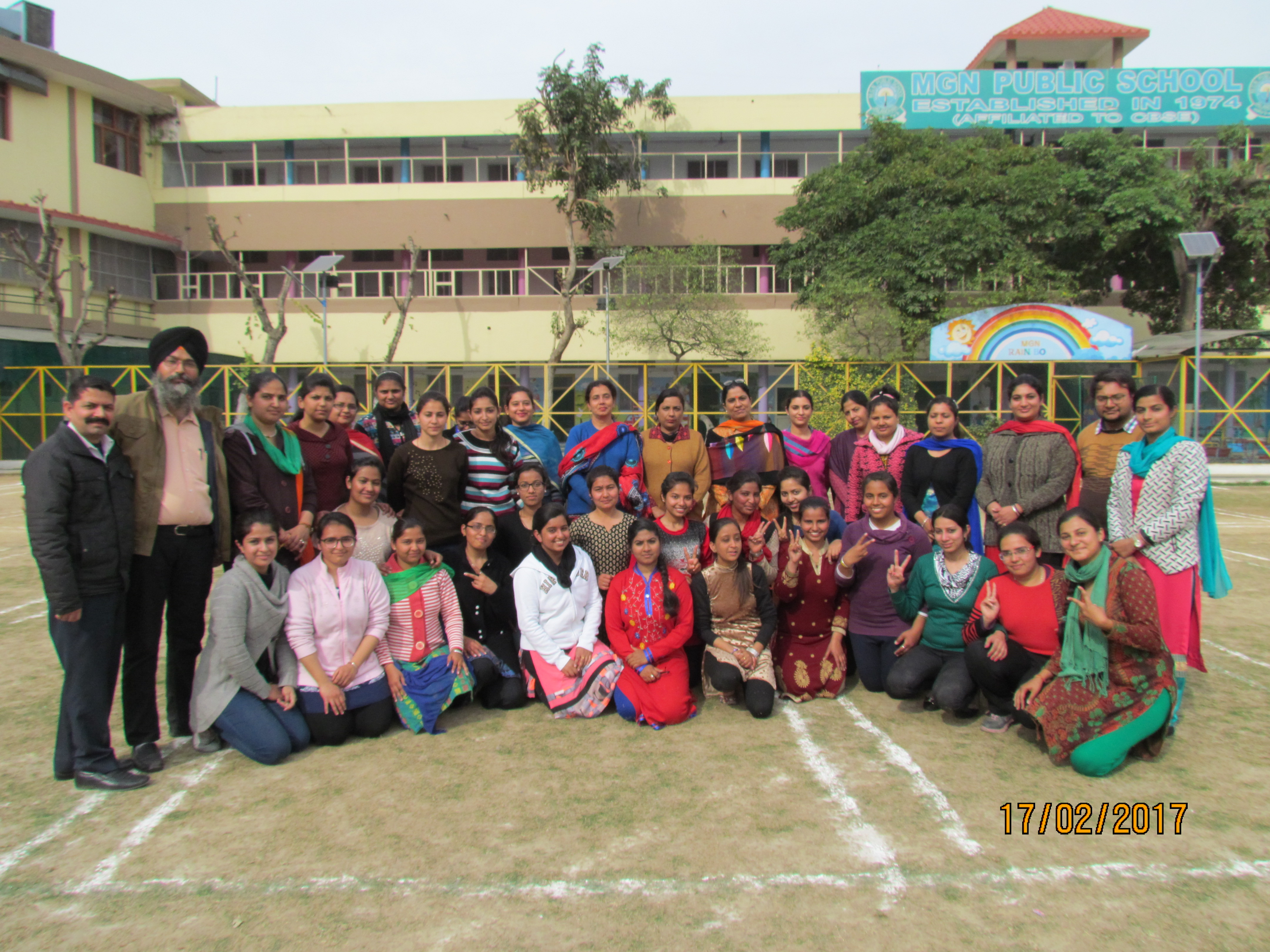 Kho-Kho Competitions at M.G.N. College of Education