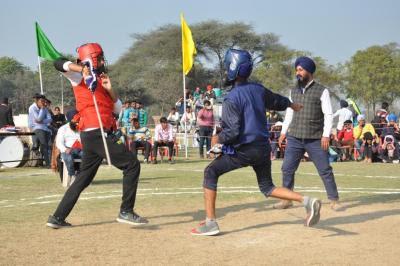 Panjab University Overall Champs In National Gatka Championship Concludes at Guru Kashi University