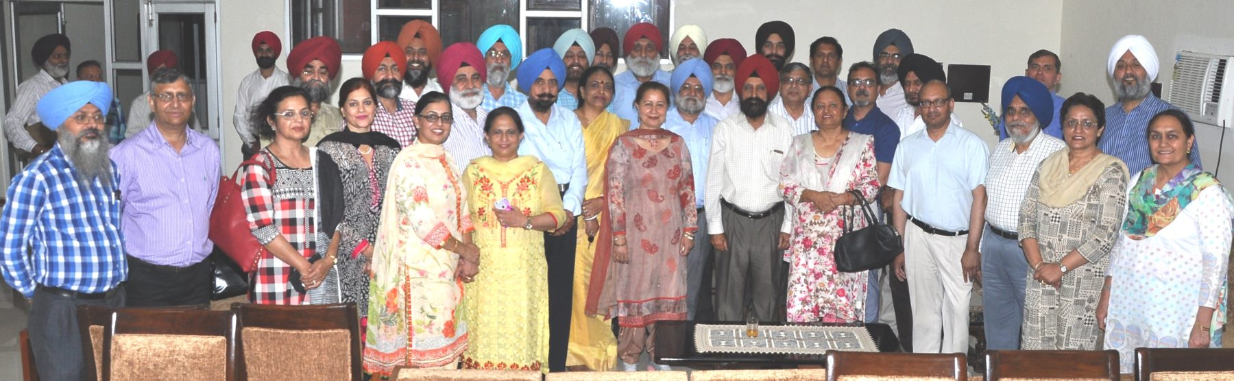 OPINIONS CHANGE, FACTS REMAIN Farewell to Prof. A.S. Brar by Senior Teachers & Officers
