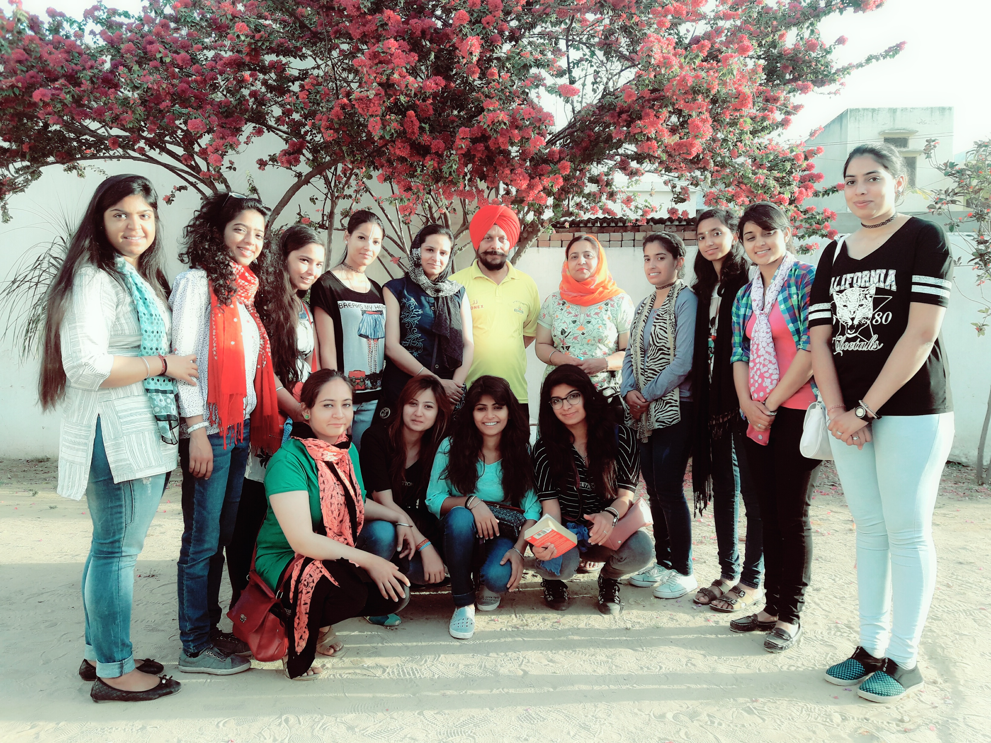 Students of HMV participated in 10 days Inter  State Tour Programme