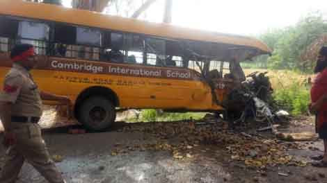 Three students killed including driver of  Cambridge School 15 injured in road accident