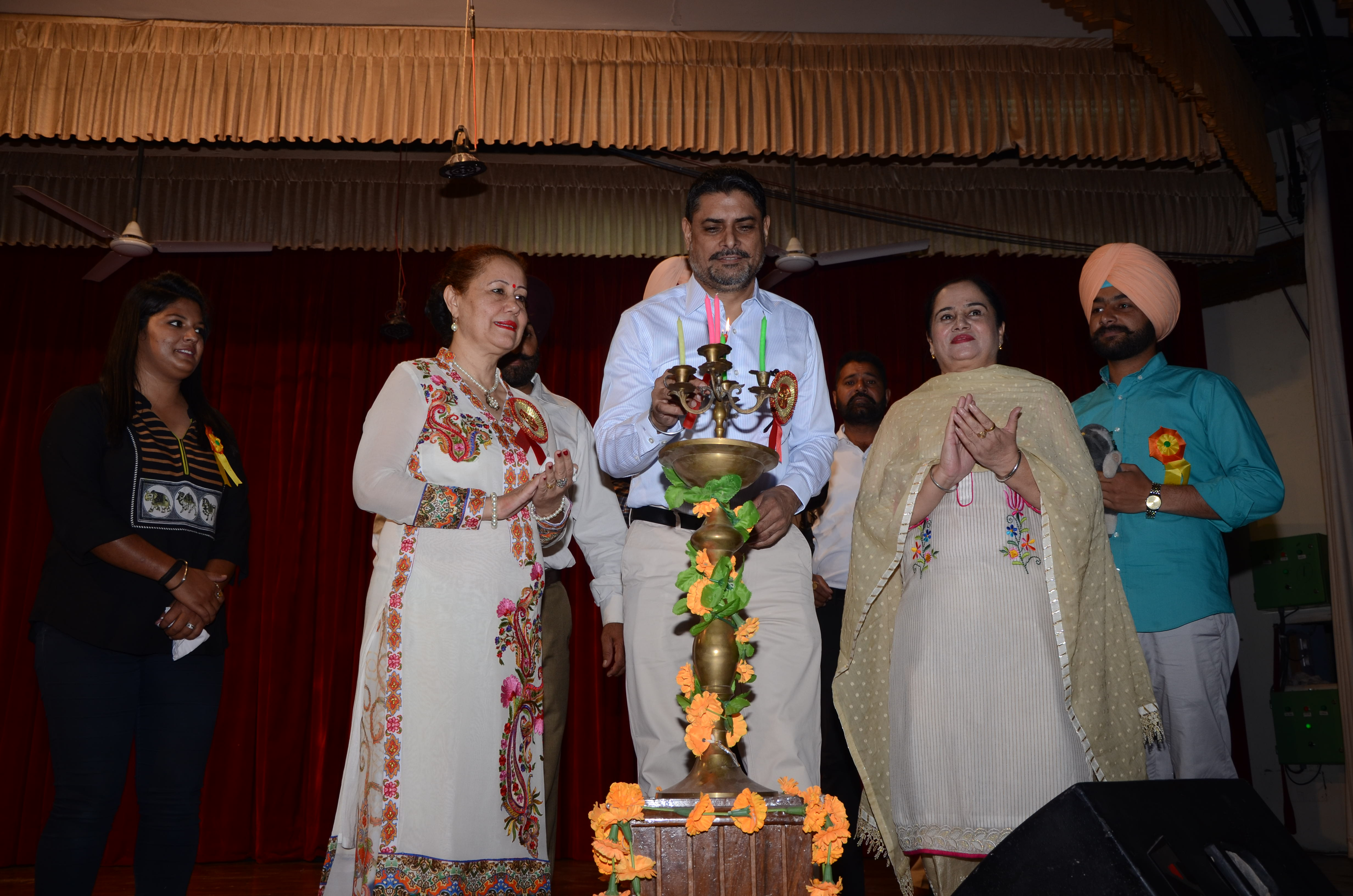 'C' Zone Zonal Youth Festival inaugurated at GNDU
