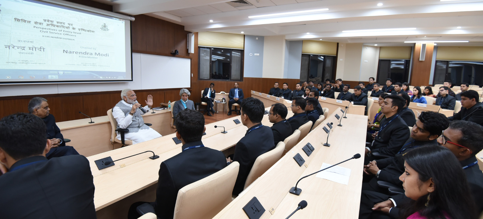 PM on 2-day visit to LBSNAA, Mussoorie; interacts with Officer Trainees of 92nd Foundation Course