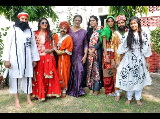 Dev Samaj College for Women excel in PU's 59th Zonal Youth and Heritage Festival