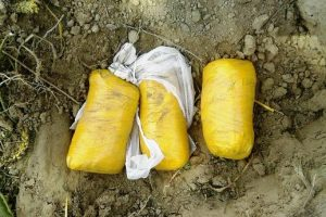 2 KG. 560 GRAM HEROIN RECOVERED BY BSF ALONG THE BORDER