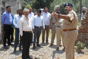ELECTION OBSERVER, CP AND ADC REVIEWS ARRANGEMENTS AT COUNTING CENTRE