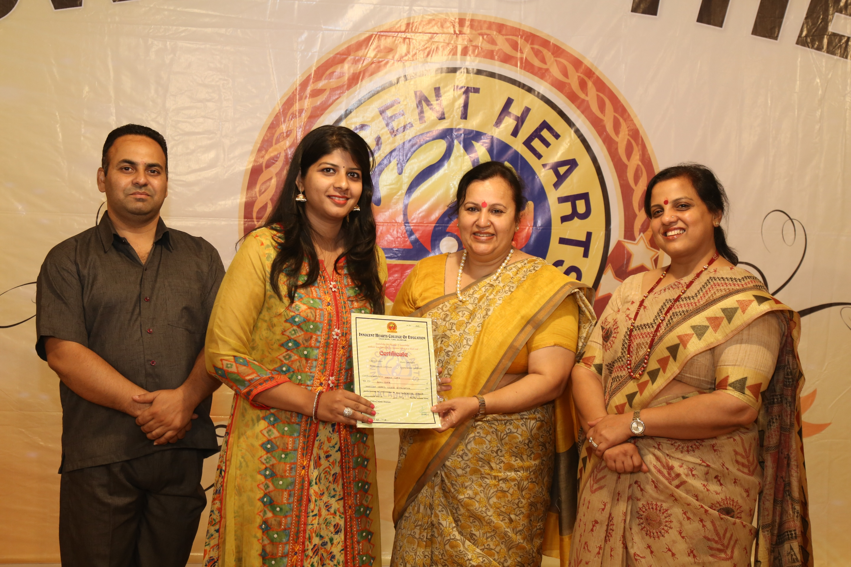 INNOCENT HEARTS COLLEGE OF EDUCATION ORGANISE  ANNUAL PRIZE DISTRIBUTION FUNCTION