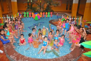 INNOKIDS STUDENTS OF INNOCENT HEARTS FEEL THE JOY OF SPLASHING IN THE SPECIAL POOL