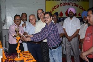13th BLOOD DONATION CAMP by AKHIL BHARTIYA SHRI SANGMESHWER  SEWA DAL