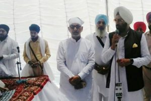 SODHI HANDS OVER EX-GRATIA AMOUNT TO THE FAMILY MEMBERS OF THE DECEASED WHO WERE BURIED ALIVE
