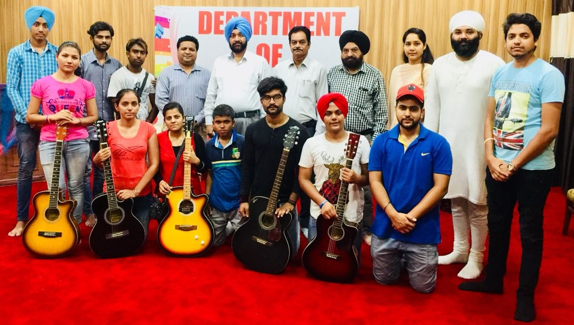Completion of Hobby Classes of Music at Lyallpur Khalsa College