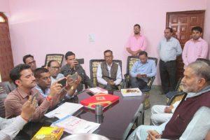 हरियाणा में किसी अन्य राजनैतिक दल के गठन की संभावना नहीं: रामबिलास शर्मा