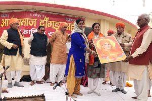 डिप्टी स्पीकर ने ऐच्छिक कोटे से 11 लाख रुपए आर्य समाज मंदिर के लिए स्वीकृत किए