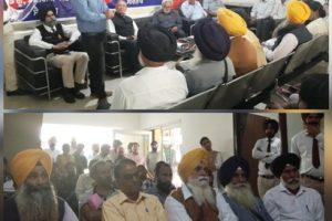 Dengue, Maleria awareness Seminar organized at Saanjh Kendra Ferozepur