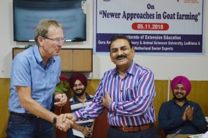 International Workshop on Newer approaches in Goat farming at Veterinary Varsity