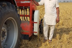 Crop Residue Management Proving Boon For  Farmers