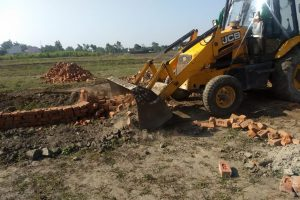 JDA DEMOLISHES FOUR ILLEGAL COLONIES AROUND THE CITY