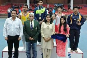 LUDHIANA'S KESHAV THAKUR BECOMES BEST GYMNAST IN INTER COLLEGE GYMNASTICS COMPETITION