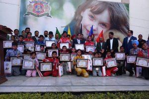 दूसरा मयंक शर्मा एक्सीलैंस अवॉर्ड: खेलो में जिले का नाम रोशन करने वाले 125 खिलाडिय़ो का सम्मान