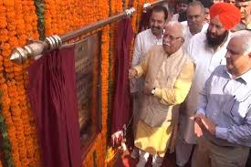 Manohar Lal today inaugurates and lays foundation stone of 14 development projects   at Kaithal