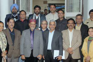 Sanjay Beniwal, DGP, U.T. Chandigarh visits Panjab University