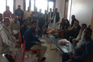 हरी चुनरी चौपाल की सफलता के लिए बैठक हुई