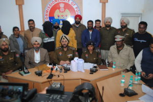 COMMISIONERATE POLICE BUSTS INTERSTATE DRUG RACKET WITH ARREST OF TWO PERSONS SEIZE 1.5 KG HEROIN BROUGHT FROM DELHI