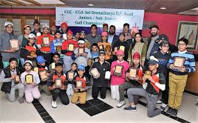 Khushi and Aditya Sood win golf titles in A category