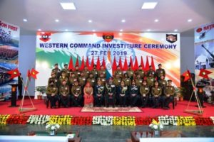 GoC-in-Chief honours bravehearts  at Western Command Investiture Ceremony