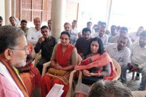 भाजपा प्रत्याशी धर्मबीर सिंह 18 अप्रैल को करेंगे नामांकन पत्र दाखिल-रामबिलास शर्मा