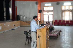 भारत निर्वाचन आयोग द्वारा वीडियों कान्फेंसिंग के माध्यम से प्रदेश भर के जिला निर्वाचन अधिकारियों को इलैक्ट्रोनिकली ट्रांसमेटिड पोस्टल बैलेट सिस्टम की पीपीटी के माध्यम से विस्तार से जानकारी दी गई