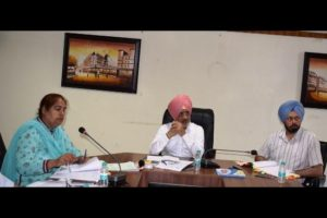 DC Fazilka expresses serious concern on road accidents, orders removal of illegal encroachments