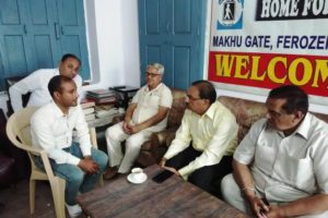 DC visits Home for the Blinds, gives tips to visually impaired aspirants to crack UPSC exam