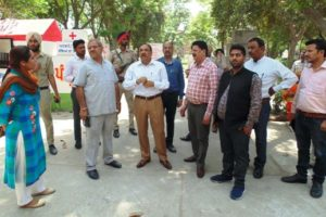 DC Ferozepur visits Civil Hospital campus, issues orders on-the-spot to help patients