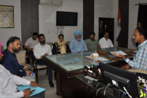 DC REITERATES FIRM COMMITMENT OF DISTRICT ADMINISTRATION FOR SMOOTH AND HASSLE FREE WHEAT PROCUREMENT