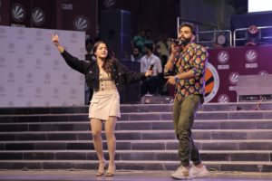 Pollywood Star Parmish Verma enthralled LPU Students