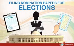 FILING OF NOMINATIONS FROM APRIL 22-29