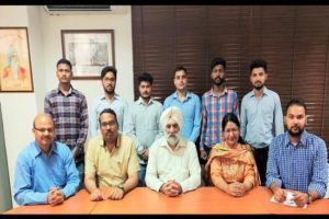 Aarti International selects Six Textile Engineering Students of GZSCCET under placement drive