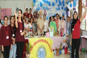 3rd Day of International Nurse's Week celebration at Mata Sahib Kaur College of Nursing