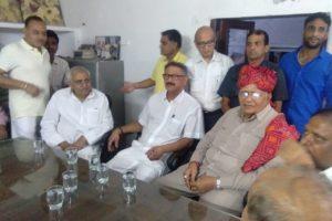 भिवानी विधानसभा में बीजेपी को मिली बड़ी ताकत,पूर्व विधायक शिवशंकर भारद्वाज 9 मई को विधिवत बीजेपी में शामिल।बड़ा बोटबैंक है पूर्व विधायक के पास