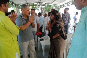 राव इंद्रजीत सिंह को जिला प्रमुख ने लगातार 4 बार सांसद बनने पर दी बधाई