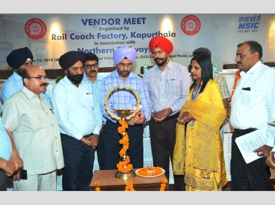 GM Northern Railway participates in  17th Vendors Development Day