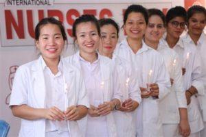 Aryans Institute of Nursing celebrates International Nurses Day