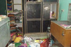 कांटी में 81 हजार रुपये की नगदी सहित लाखों रुपये के आभूषणों पर चोरों ने किया हाथ साफ
