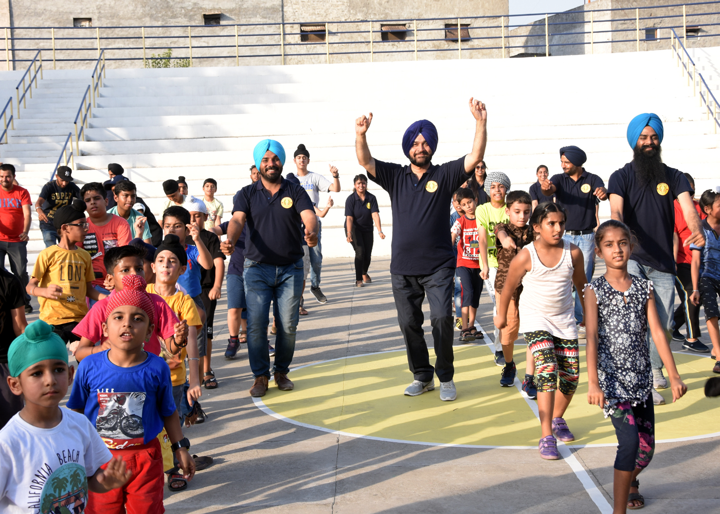 latest edition of the annual Punjabi Folk Dance Camp to continue till  July7 at KLC