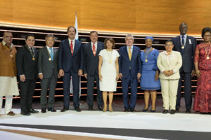 IOC SESSION ELECTS TWO EXECUTIVE BOARD MEMBERS AND TEN NEW IOC MEMBERS