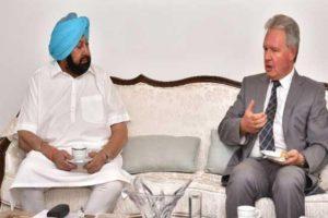 Amarinder assures UK envoy of full support for Indian origin people in UK to visit Punjab during 550th Parkash Purb Celebrations
