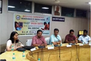 Railways and DCM Group of Schools sign MoU over 'Shiksha Saarthi' project